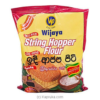 Wijaya Red Rice String Hoppers Flour- 1KG Online at Kapruka | Product# grocery001276
