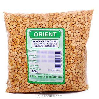 Orient Black Gram Dhall - 500g Online at Kapruka | Product# grocery001308