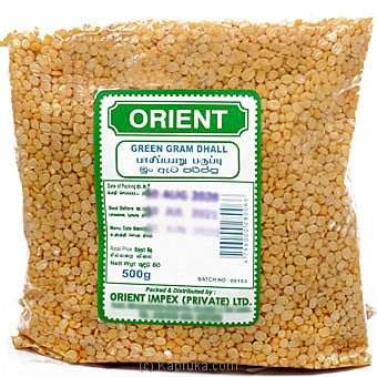 Orient Green Gram Dhal 500g Online at Kapruka | Product# grocery001305