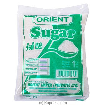 Orient White Sugar 1 Kg Online at Kapruka | Product# grocery001303