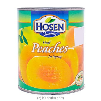Hosen Quality Half Peaches In Syrup 825g Online at Kapruka | Product# grocery001339