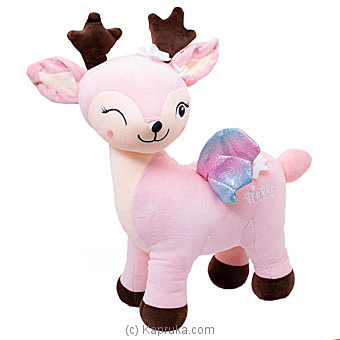 Dear Pink Reindeer- Large Online at Kapruka | Product# softtoy00696_TC1