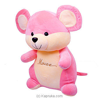 Cheeser Pink Mouse- Medium Online at Kapruka | Product# softtoy00691_TC2