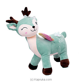 Dear Green Deer- Large Online at Kapruka | Product# softtoy00699_TC1