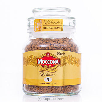 Moccona Classic Freeze Dried Instant Coffee 50g Online at Kapruka | Product# grocery001394