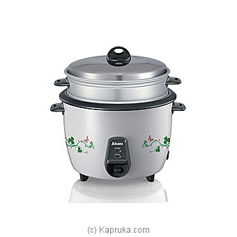 Abans- 1.5L Rice Cooker With Steamer ABCKRC15TR4 Online at Kapruka | Product# elec00A2194