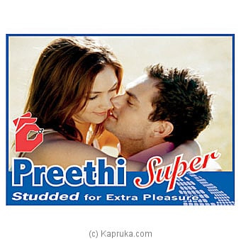 Preethi Super Condoms Online at Kapruka | Product# grocery001429