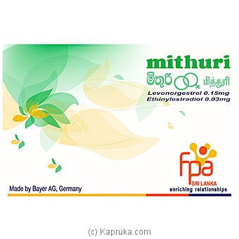 Mithuri - Oral Contraceptives (OCP) Online at Kapruka | Product# grocery001422