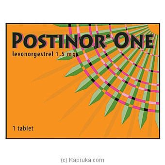 Postinor- 1	emergency Contraceptives Online at Kapruka | Product# grocery001420