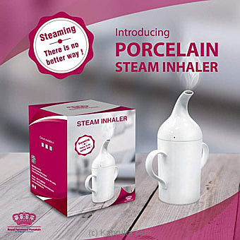 Royal Fernwood Porcelain Steam Inhaler Online at Kapruka | Product# household00391