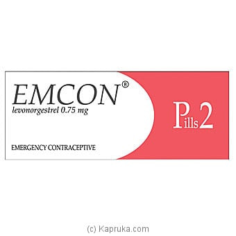 Emcon 2 Emergancy Contraceptive Pill Online at Kapruka | Product# grocery001443