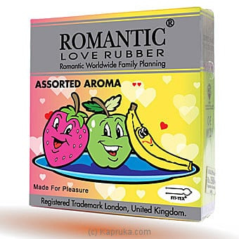 Romantic Aroma Condom Online at Kapruka | Product# grocery001441