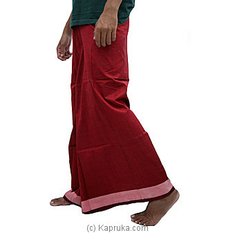 Pure Cotton Handloom Sarong- CS1111 Online at Kapruka | Product# clothing01091