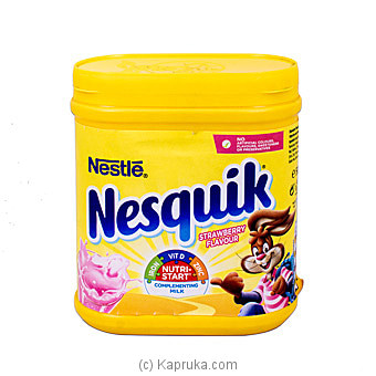 Nesquik Strawberry 500g Online at Kapruka | Product# grocery001514