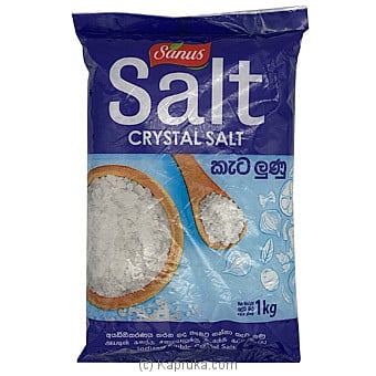 Sanus Free Flow Crystal Salt 1kg Online at Kapruka | Product# grocery001512