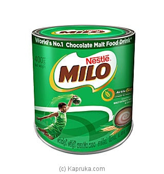 MILO 400g Tin Online at Kapruka | Product# grocery001534