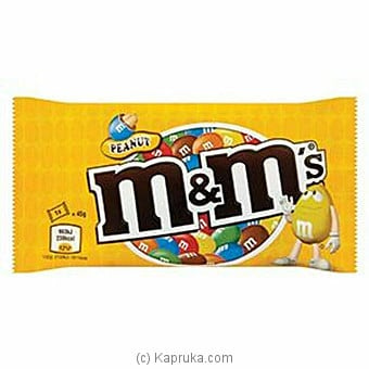 M&m's Peanut Chocolate 45g Online at Kapruka | Product# chocolates00917