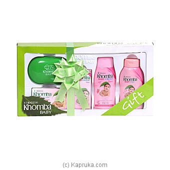 Khomba Baby Gift Pack- Floral Online at Kapruka | Product# grocery001568