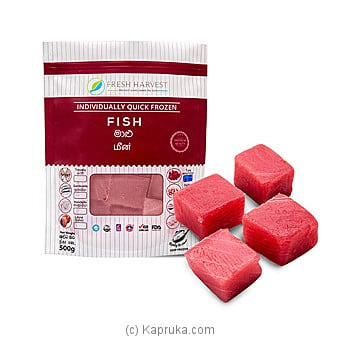 Fresh Harvest Tuna Cubes 1kg - Fresh Fish Online at Kapruka | Product# frozen00128