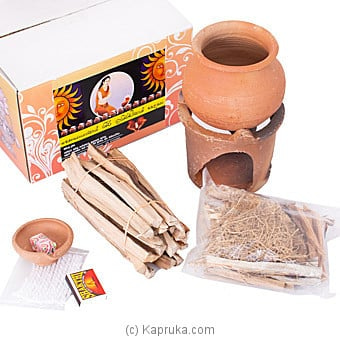 Auspicious Gift Box Of '' Kiri Uthurana'' Kit Online at Kapruka | Product# household00397