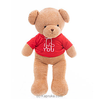 My Huggable Love Teddy- Red T-Shirt Online at Kapruka | Product# softtoy00748_TC1