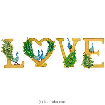 'LOVE' Home Décor Ornament Online at Kapruka | Product# ornaments00790