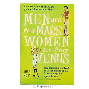 Men Are From Mars Women Are From Venus Online at Kapruka | Product# chldbook00291