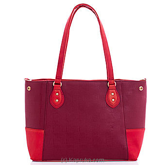 Ladies Handbag - Red Online at Kapruka | Product# fashion001509