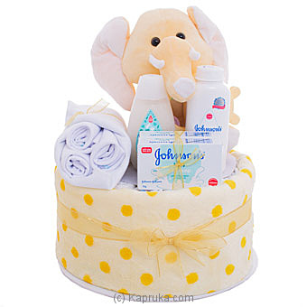 Baby Shower Gift Basket - Yellow Online at Kapruka | Product# babypack00379