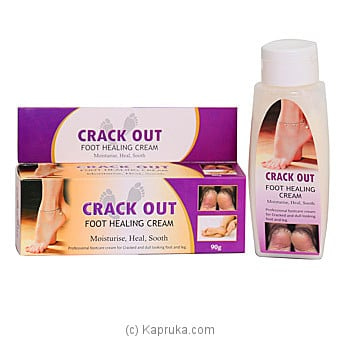 Crack Out Cream (foot Healing Cream) 90g Online at Kapruka | Product# grocery001670
