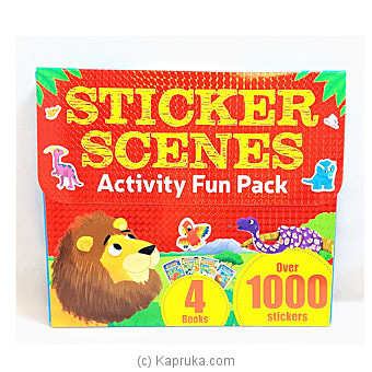 My Sticker Scenes Fun Pack (1000's Of Stickers) Online at Kapruka | Product# book0268