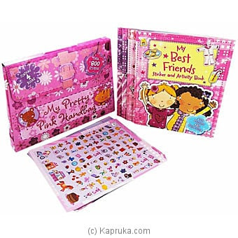 My Pretty Pink Handbag - Over 1000 Stickers Online at Kapruka | Product# book0424