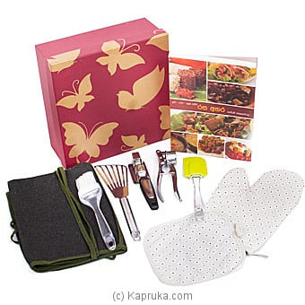 Mom's Kitchen Utensils With Recipe Book Online at Kapruka | Product# giftset00243