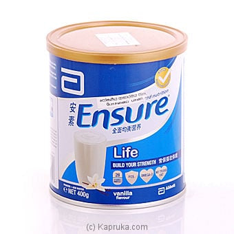 Ensure Powder Tin - 400g Online at Kapruka | Product# Vitamin001