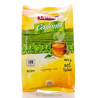 Lipton Ceylonta Tea Pkt - 400g Online at Kapruka | Product# grocery0062