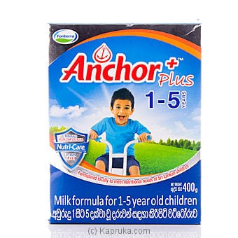Anchor 1-5 Milk Powder 400g Online at Kapruka | Product# grocery0218