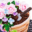 Shop in Sri Lanka for Mama's Rose Pot Mother's Day Ribbon Cake