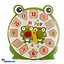 Shop in Sri Lanka for Kids Learning Wooden Puzzle Clock - Frog