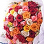 Shop in Sri Lanka for Multicolored 100 Roses Bouquet