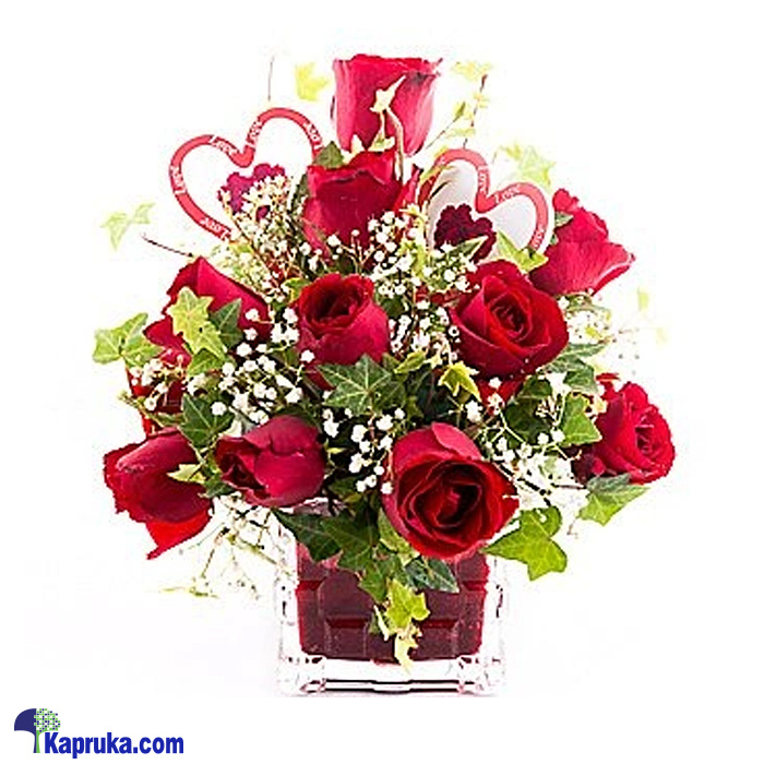 Message From The Heart Online at Kapruka | Product# flowers00T929