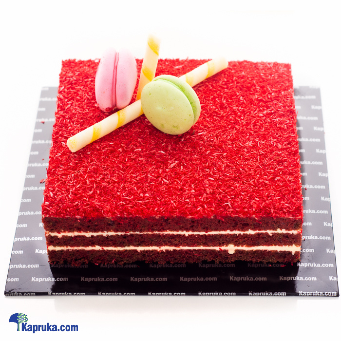 Blooming Blush Red Velvet Cake Online at Kapruka | Product# cake00KA00979