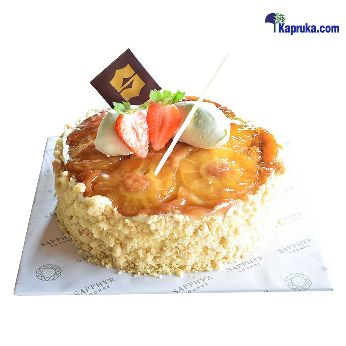 Shangri- La Pineapple Upside Down Cake Online at Kapruka | Product# cakeSHG00101
