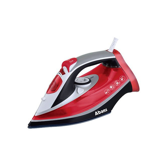 Abans Steam Iron- Red ABIR501RD Online at Kapruka | Product# elec00A2133