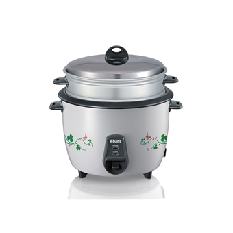 Abans - 1.8L Rice Cooker With Steamer ABCKRC18TR4 Online at Kapruka | Product# elec00A2192