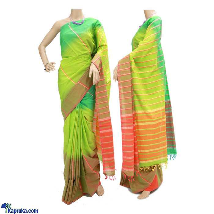 Standard Cotton Saree- C1411 Online at Kapruka | Product# clothing01181