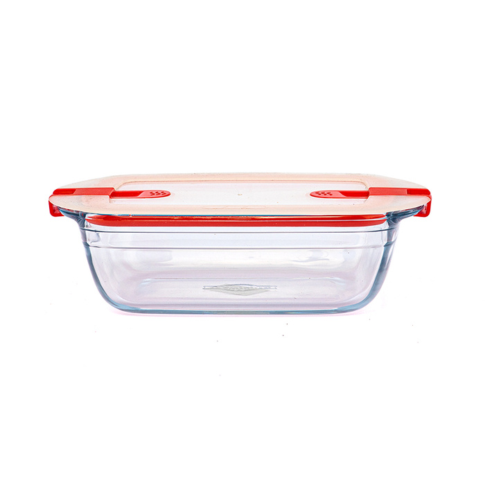 Rectangular Dish With Plastic Lid Wtih 2 Steam Valves 28191 Online at Kapruka | Product# elec00A2400