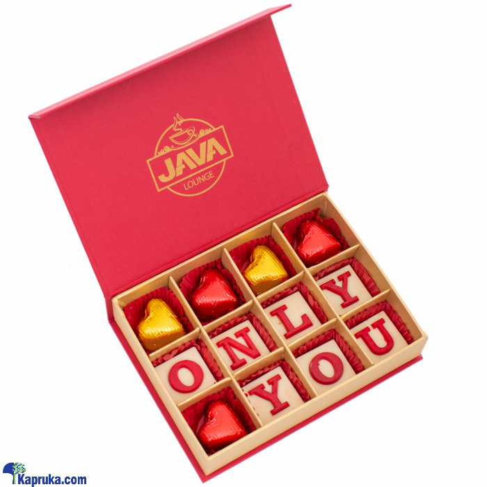 Java Only You 12 Piece Chocolate Box Online at Kapruka | Product# chocolates00961