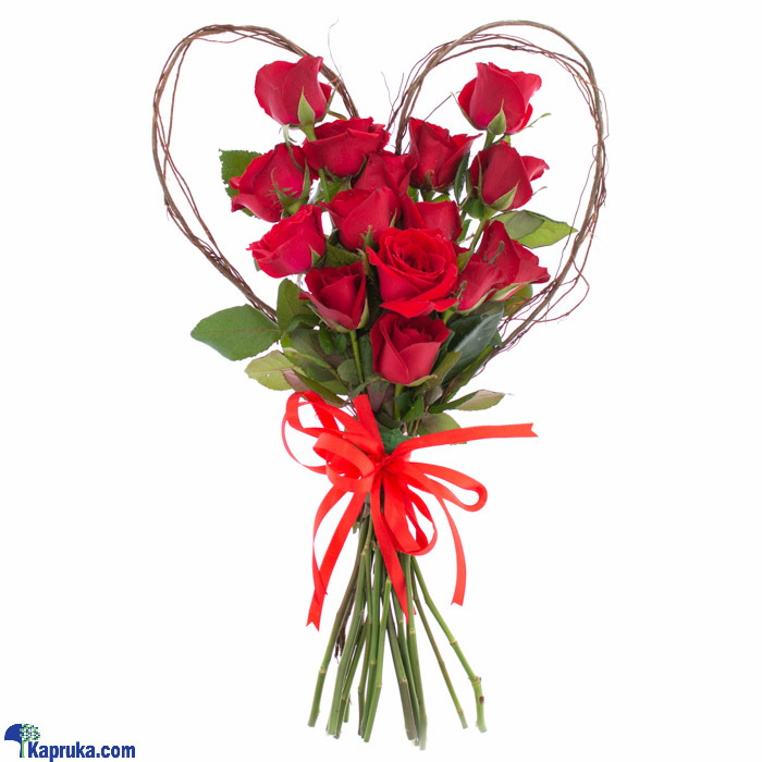 Heir To A Genuine Heart- Mix Of Red Roses Online at Kapruka | Product# flowers00T1167