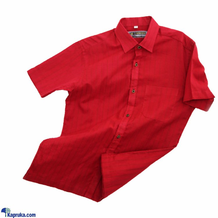 Red Colour Mixed Mens Shirt- HS0101 Online at Kapruka | Product# clothing01714