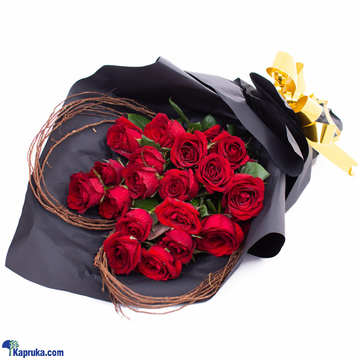 Romantic Lullaby- Mix Of Red Roses Online at Kapruka | Product# flowers00T1170